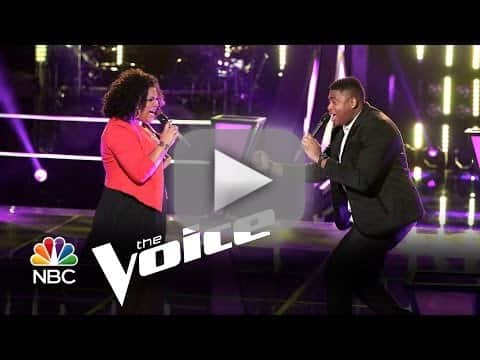 T.J. Wilkins vs. Cierra Mickens: 'Get Here' (The Voice)