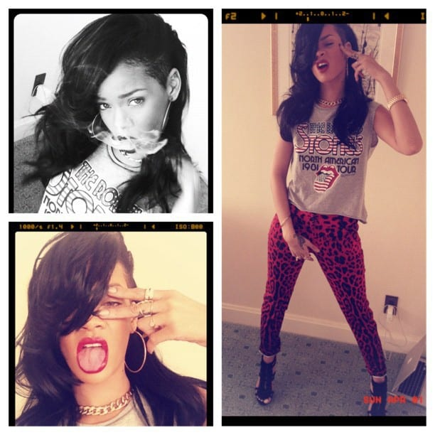 Rihanna InstaGram Photos