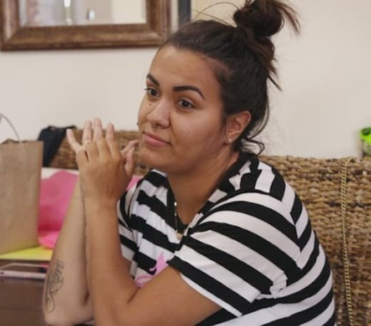 Briana DeJesus as a Teen Mom (2)