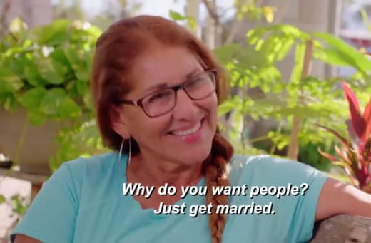 Armando Rubio mom - why do you want people? just get married