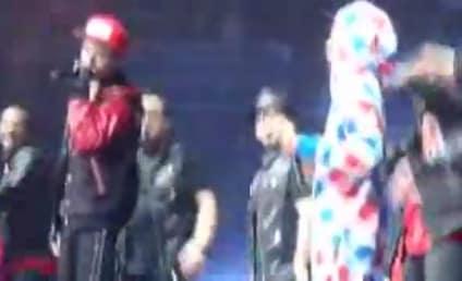 Justin Bieber Covers Rebecca Black, Britney in Concert