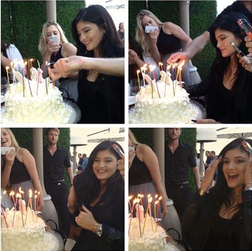 Kylie Jenner Birthday Pics