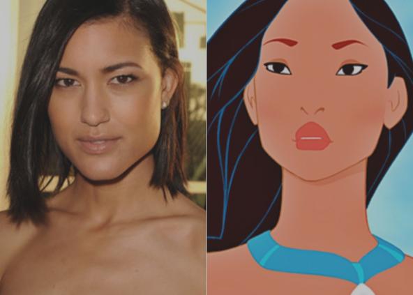 Julia Jones & Pocahontas