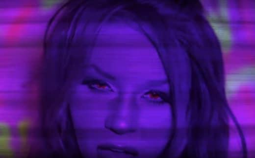 Courtney Stodden Purple
