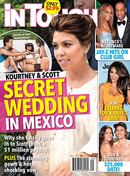 Kourtney Kardashian Not Marrying In Mexico The
