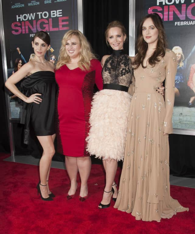 'How To Be Single' Premiere