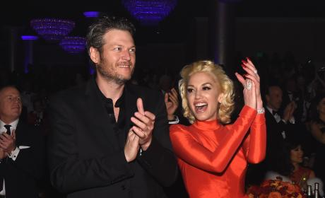Blake Shelton and Gwen Stefani: 2016 Pre-GRAMMY Gala