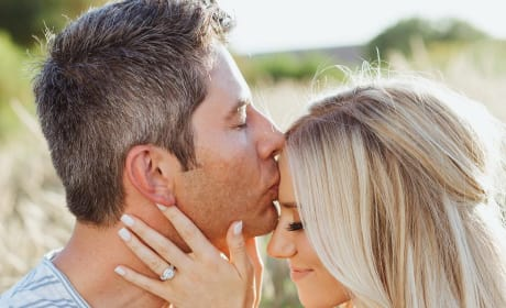 Lauren Burnham and Arie Luyendyk Jr. Engagement Photo