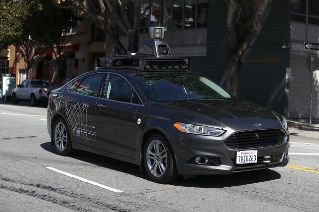 Uber Self-Driving Car Photo