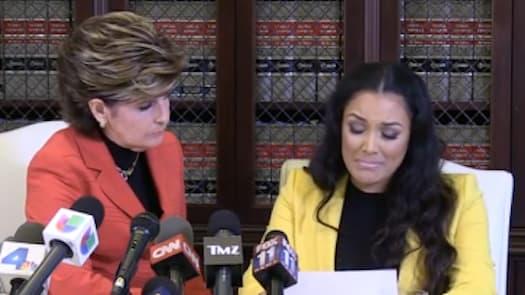 Shantel Jackson Floyd Mayweather Beat Choked Threatened