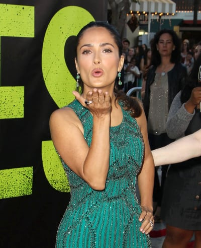 Salma Hayek at Savages Premiere