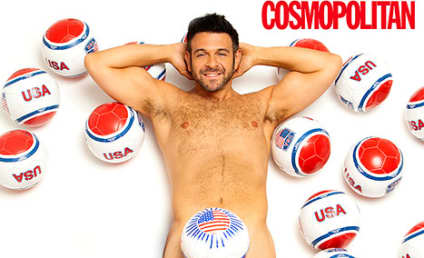 Adam Richman Drops 70 Pounds, Poses Naked in Cosmo