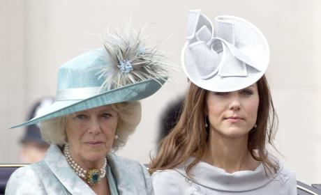 Kate Middleton and Camilla, Duchess of Cornwall: 2012 Trooping the Colour