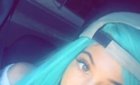 Kylie Jenner Blue Hair