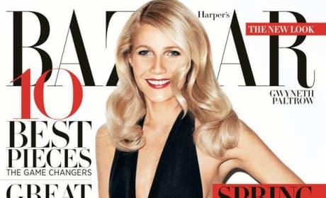 Gwyneth Paltrow Harper's Bazaar Cover