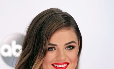 Lucy Hale at the CMAs