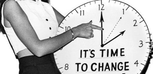 Daylight Savings Time: Fall Back!
