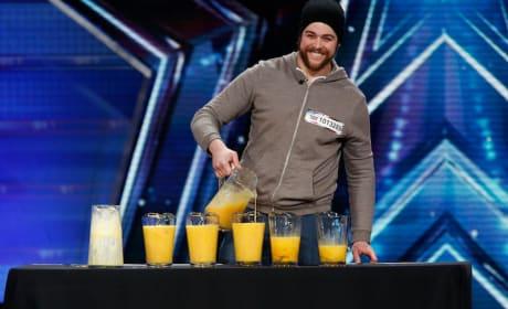 Patrick Bertoletti Drinks 120 Raw Eggs on America's Got Talent