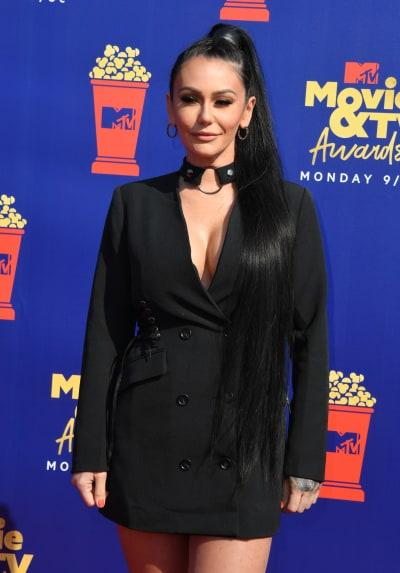 JWOWW at the MTV Movie & TV Awards