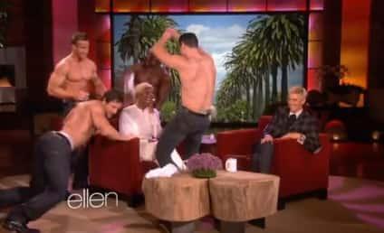 NeNe Leakes: Surrounded by Strippers on Ellen!