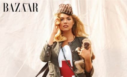 PETA Blasts Kate Upton for Wild Animal Photo Shoot