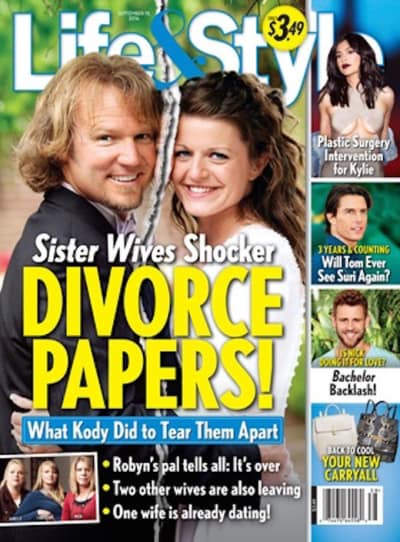 Sister Wives Divorce Cover