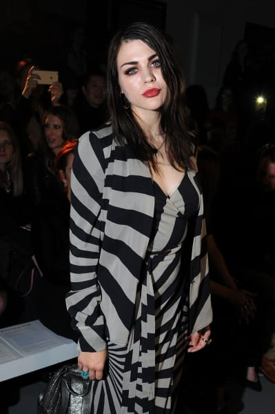 Frances Bean Cobain at Paris Fashion Week