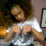 Rihanna, New Tattoo