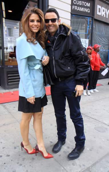 Maria Menounos and Keven Undergaro