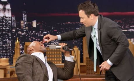 Dwayne Johnson Eats Candy For the First Time in 27 Years! WATCH!