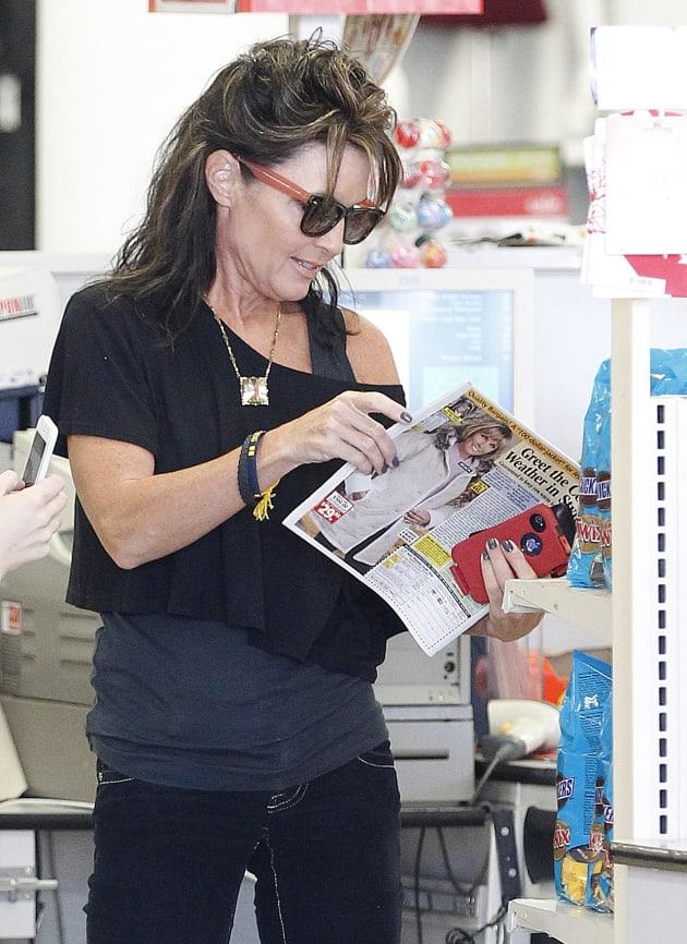 Sarah Palin at KMart