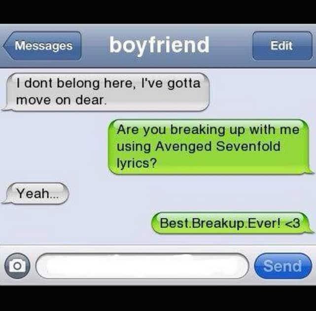 Best Breakup Ever!