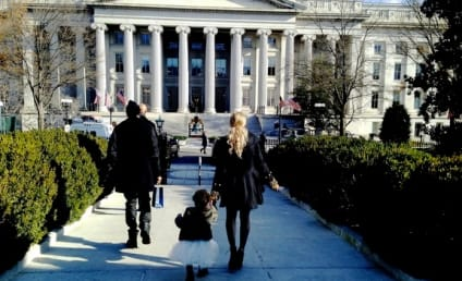 Beyonce Brings Blue Ivy to the White House: See the Photos!