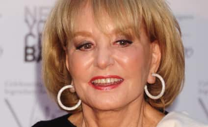 Barbara Walters Hospitalized from Fall, Will Miss Inauguration Coverage