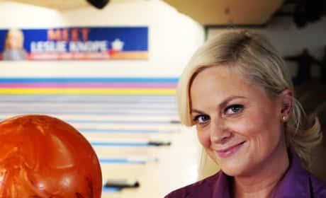 Leslie Knope bowling