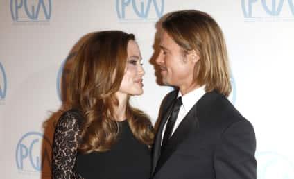 """Brad Pitt """"Would Like"""" to Marry Angelina Jolie!"""
