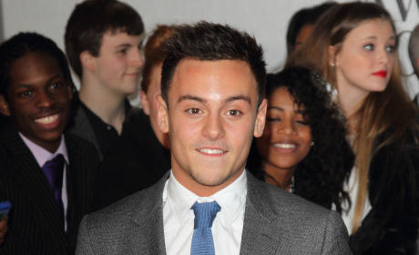 Tom Daley in a Suit