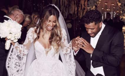 Russell Wilson and Ciara: See Their Wedding Photo!