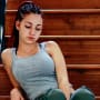 Danielle Bregoli, Pensive on the Stairs