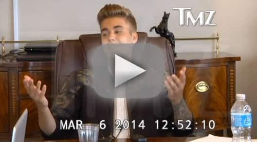 Justin Bieber Deposition Footage, Part 1