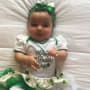 Dream Kardashian on St. Patrick's Day