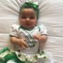 Dream Kardashian on St. Patrick's Day