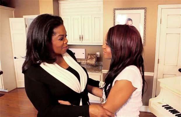 Oprah and Bobbi