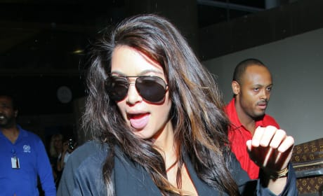 Kim Kardashian is Surrounded