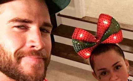 Miley Cyrus and Liam Hemsworth on Christmas: Ugly Sweater Alert!