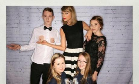 Taylor Swift with Fans and Nipples