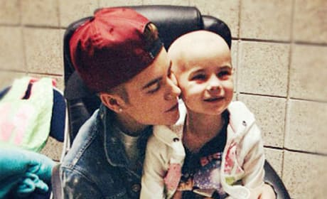 Justin Bieber, Cancer Patient