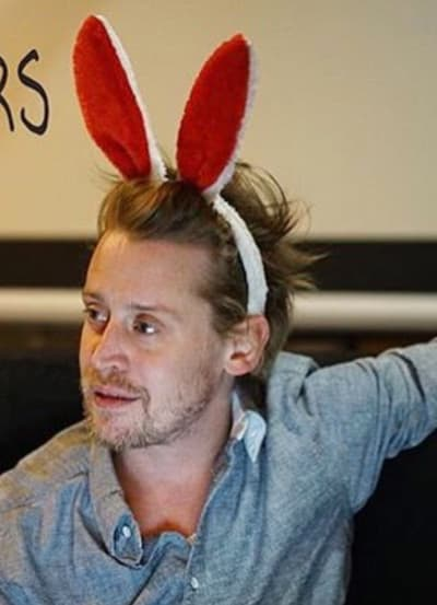 Macaulay Culkin with Ears