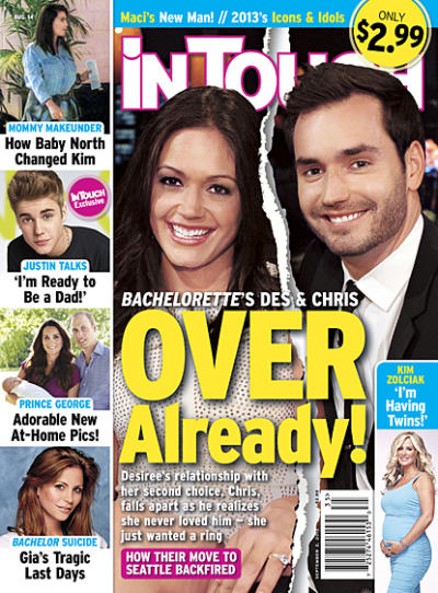 Desiree Hartsock and Chris Siegfried Over?
