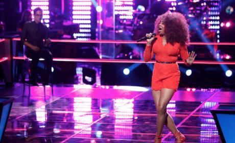 Sa'Rayah Sings on The Voice
